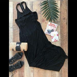 Helmut Lang Black Maxi Dress Sleeveless